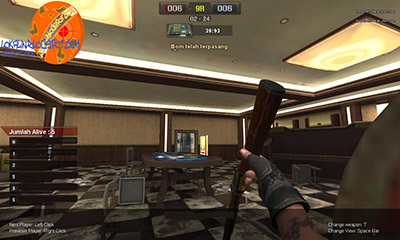 cheat point blank memasang bom C4 C5