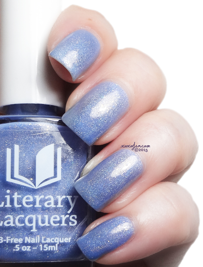 xoxoJen's swatch of Literary Lacquers