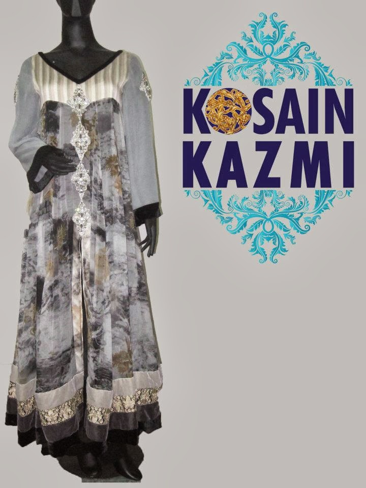New Formal Wear Collection 2013-14 For Women And Girls By Kosain Kazmi