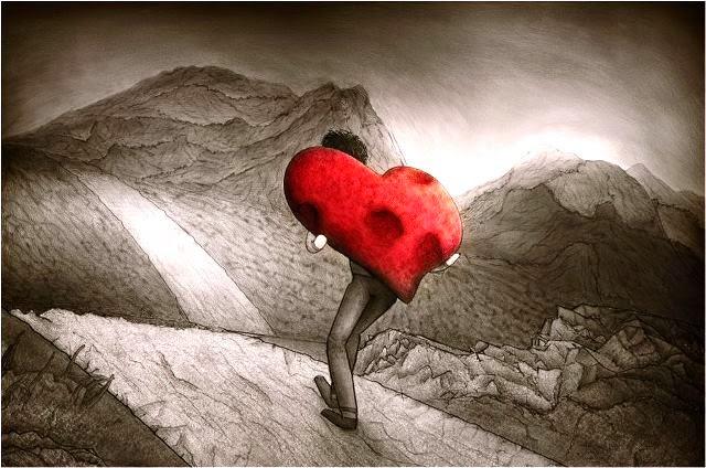 le Fardeau de l'amour et du coeur