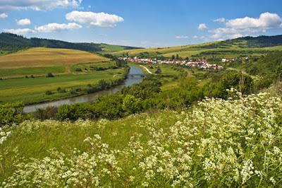 Slovakia - Town of Nizne Ruzbachy by river