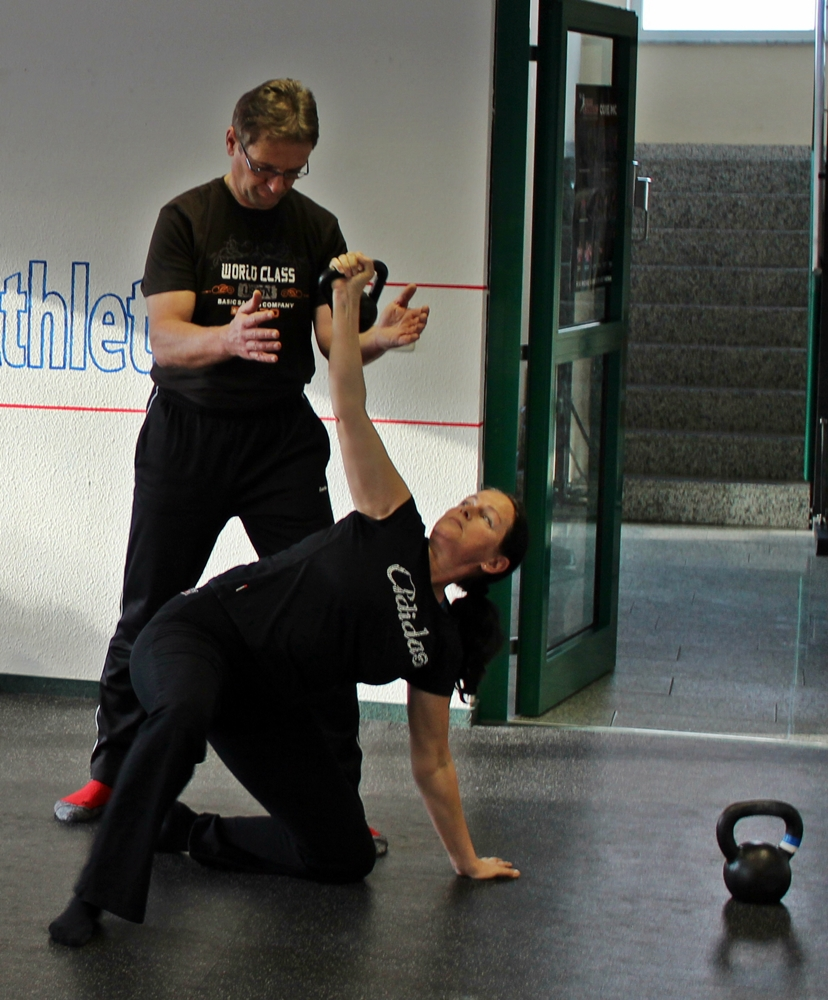 Enter the Kettlebell Seminar bei Kettlebell Fitness Athletics