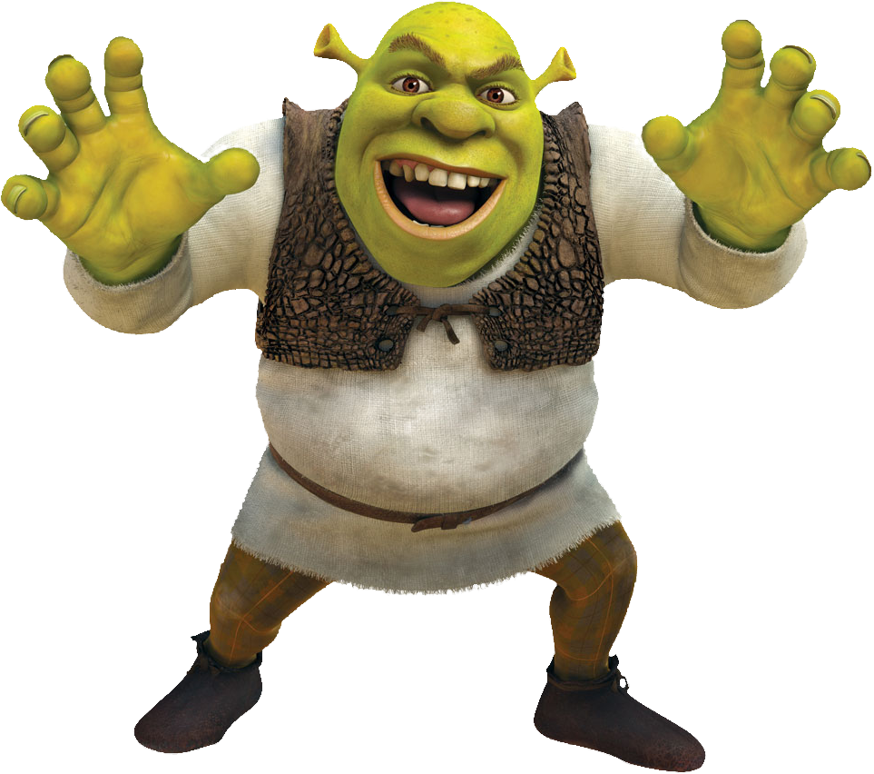 All Cliparts: Shrek Clipart