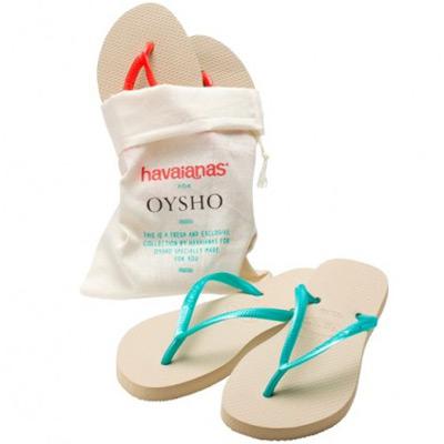 sandalias Oysho de Havaianas