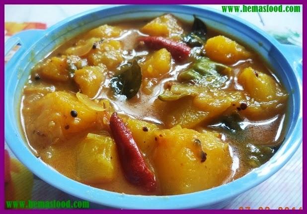 Gummadikaya Pulusu Kura - Pumpkin Stew