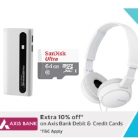 Flipkart Apps Offer : Mobile Accessories + Extra 10% Off Using Axis Bank Cards : BuyToEarn