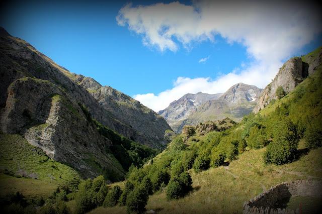 Valle Ordiso desde el refugio de los pastores del Vado