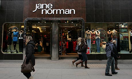 Jane Norman appointed administrators after June's rent deadline