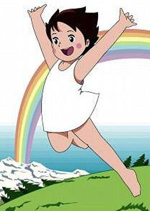 fotos heidi arco iris La representación errónea del arco iris en los dibujos animados.