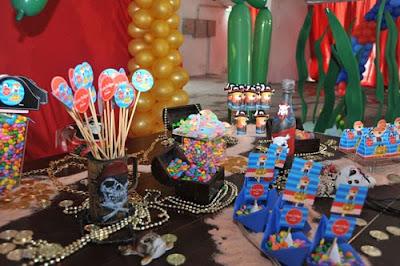Decoração de Festa Pirata