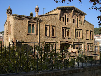 Ca l'Ordal is a traditional Catalan Masia inside La Colonia Güell