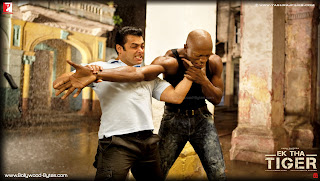  Salman Khan Fighting scene Wallpaper from Ek Tha Tiger