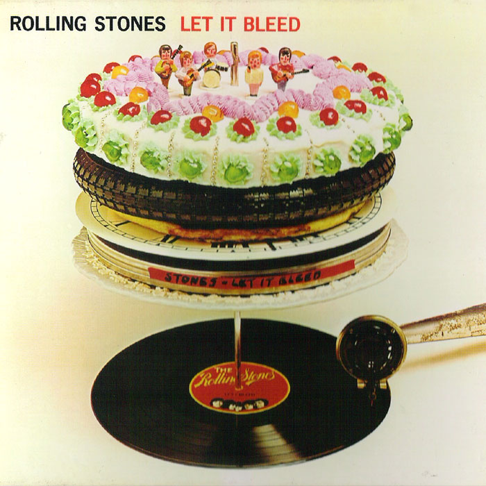 Let it Bleed Album Cover Let it Bleed Album Art From