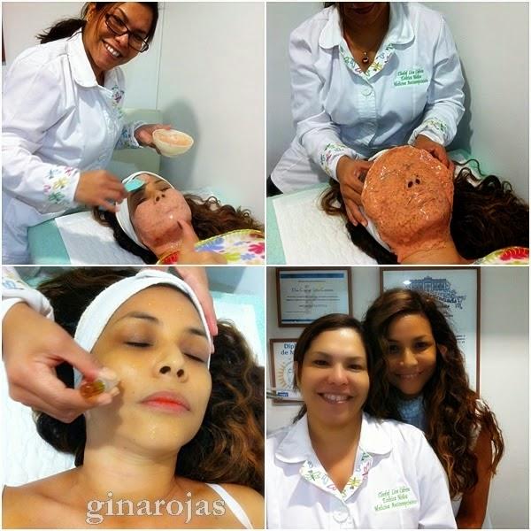 Mascarilla tensora para la piel