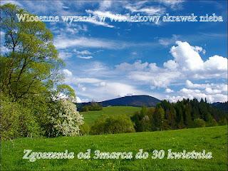 ...wiosenne wyzwanie u Wioli...