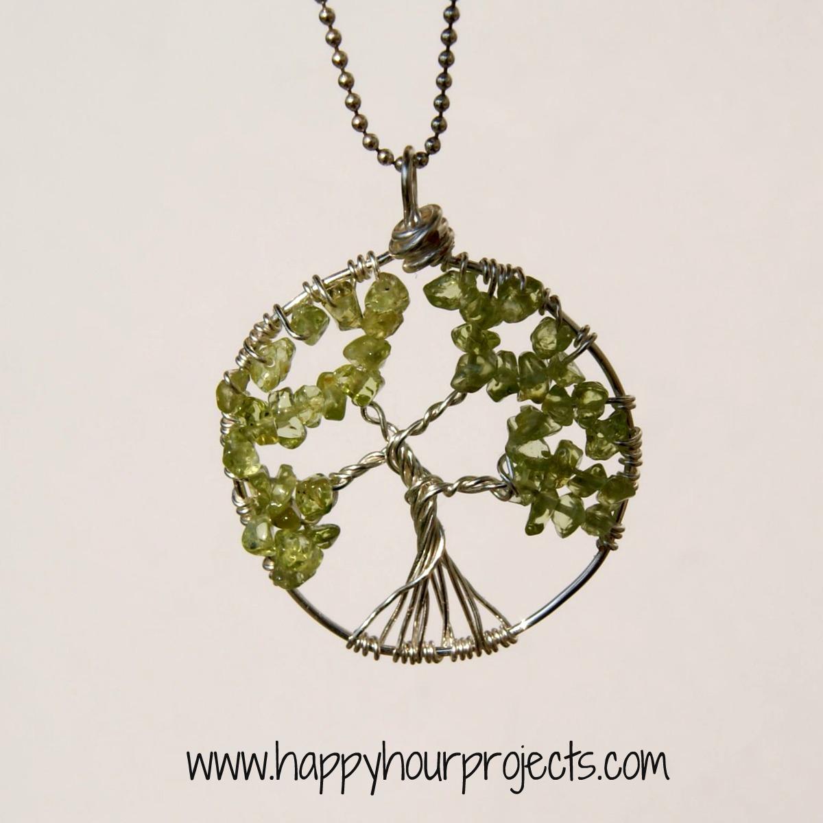 Diy Wire Tree Necklace - WIRE Center •