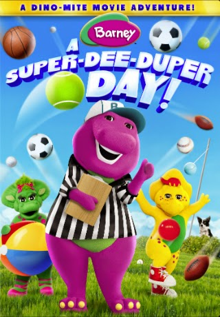 Barney: A Super Dee-Duper Day! [DVDR] [Latino] [2014]