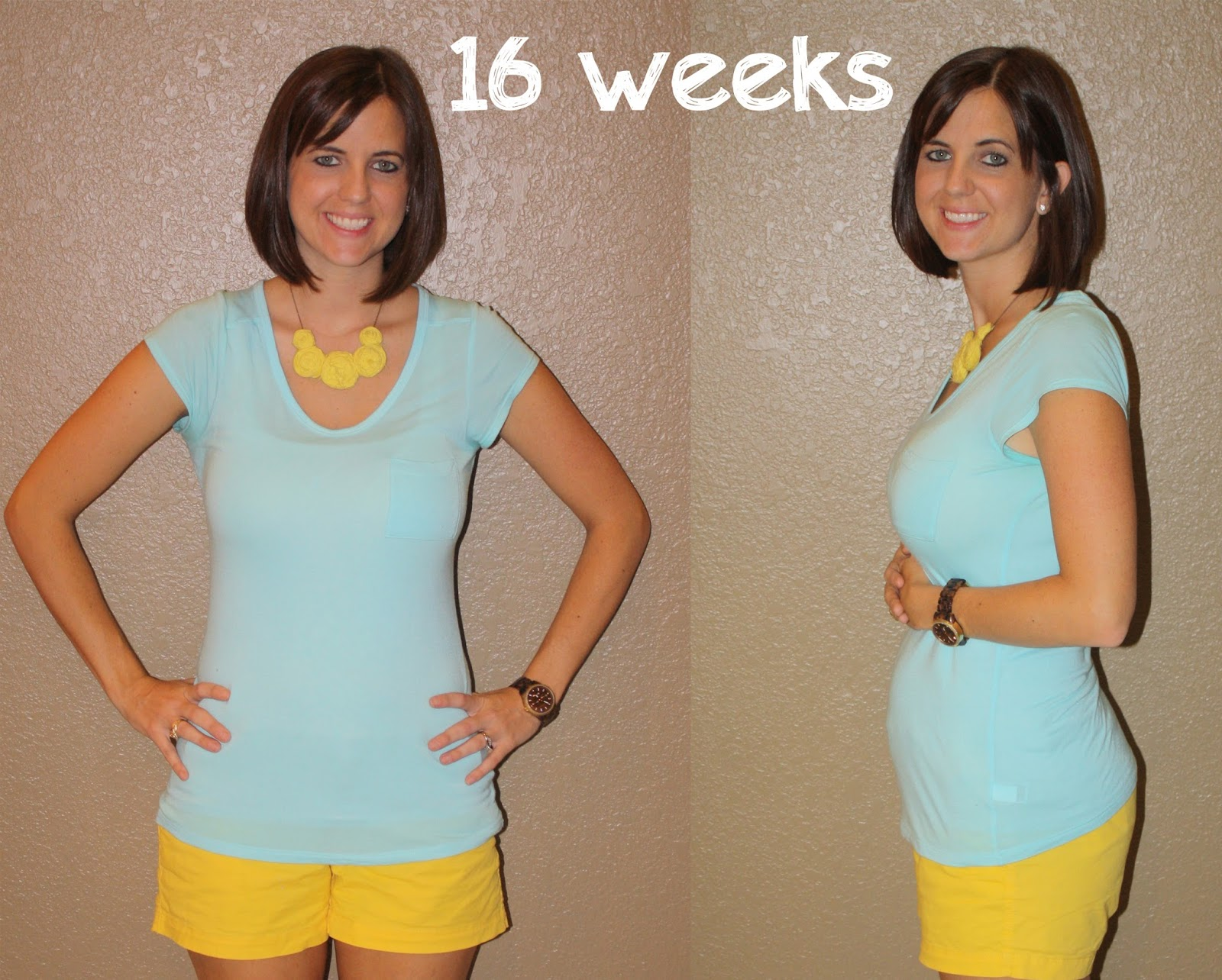 The Link Home: baby no. 2 {16 weeks}