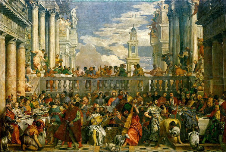 Paolo Veronese - The Marriage at Cana (1563)
