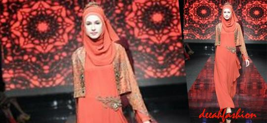Gamis Modern Baju Muslim Lebaran 2014