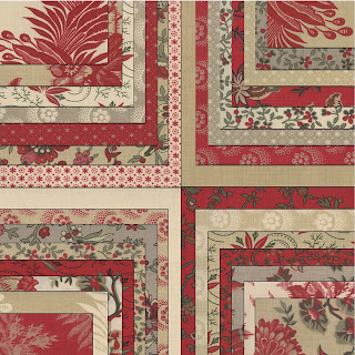 Moda ESPRIT DE NOEL Christmas Quilt Fabric by French General