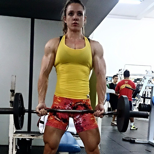 Pumpitup's Female Muscle: Marjorie Beck