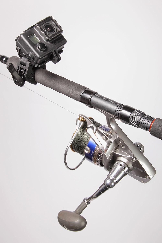 Gopro sportsman rod and gun mount arrives gac finally for Gopro fishing mounts