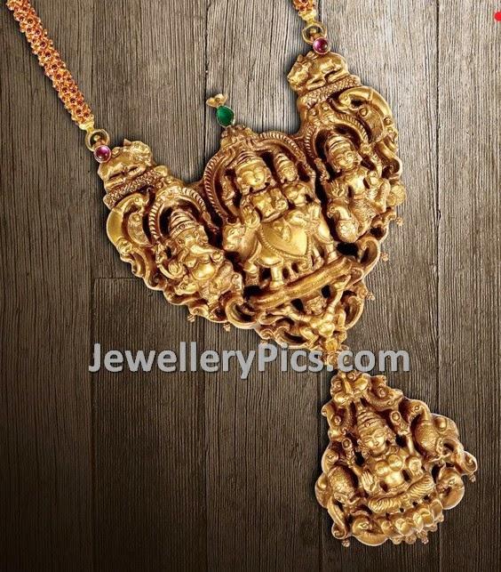 Temple goddess pendant