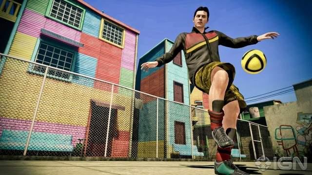 FIFA Street XBOX 360 Full Region Free Español Descargar DVD9