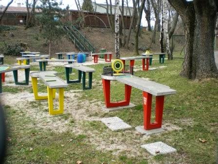 The Askoe Wien Pit-Pat Hindernis Billard course