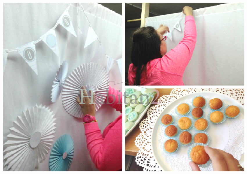 Preparativos para mesa dulce para comunión by Habitan2