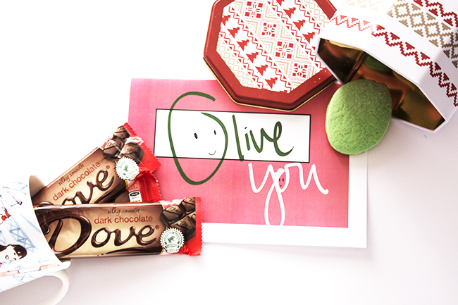 Olive You Valentine's Day Cards