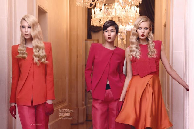 Elle Vietnam Magazine January 2013 editorial issue - Glam Night