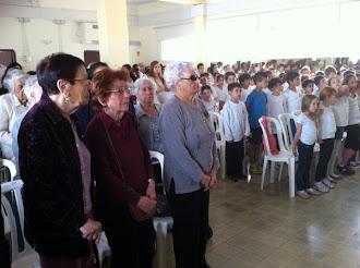 בטקס יום הזיכרון לשואה ולגבורה
