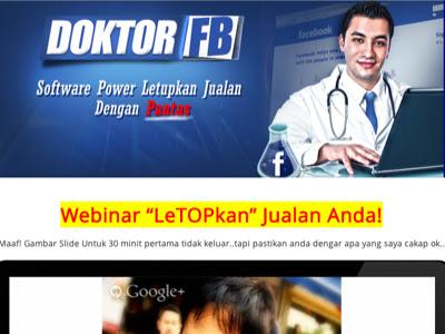 Doktor FB | Tingkatkan jualan Dengan Viral?