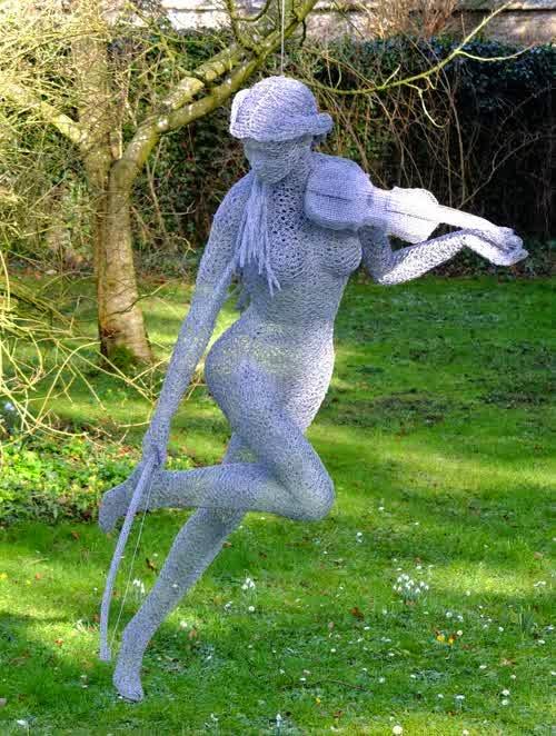 wonderful wire sculpture