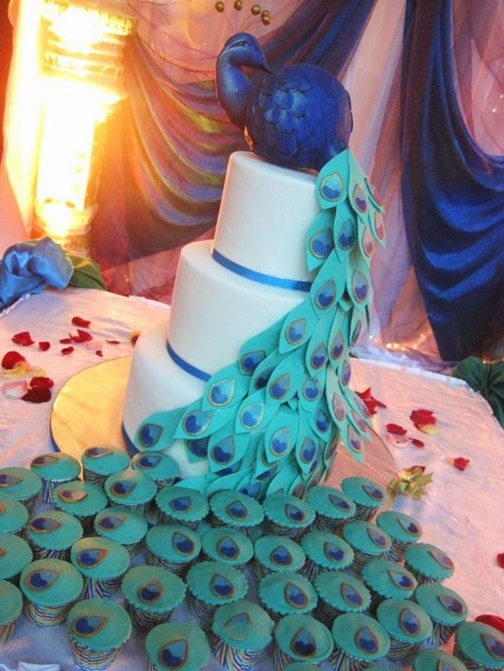 Tortas de Boda Color Turquesa, parte 4