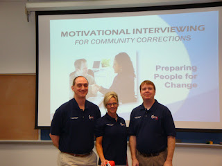 Members of MINT that presented the inaugural training were (l to r) Mark Asteris, Susan Orendac and Greg Sumpter