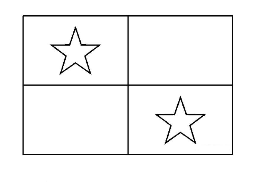 Bandera de canada para colorear - Imagui