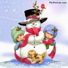imagen de muñecos de nieve