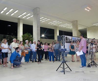O lançamento do site e da exposição física sobre o patrimônio de Campinas contou com a presença de arquitetos, dirigentes do CAU e IAB, autoridades municipais, professores universitários, historiadores, patrocinadores e fotógrafos.