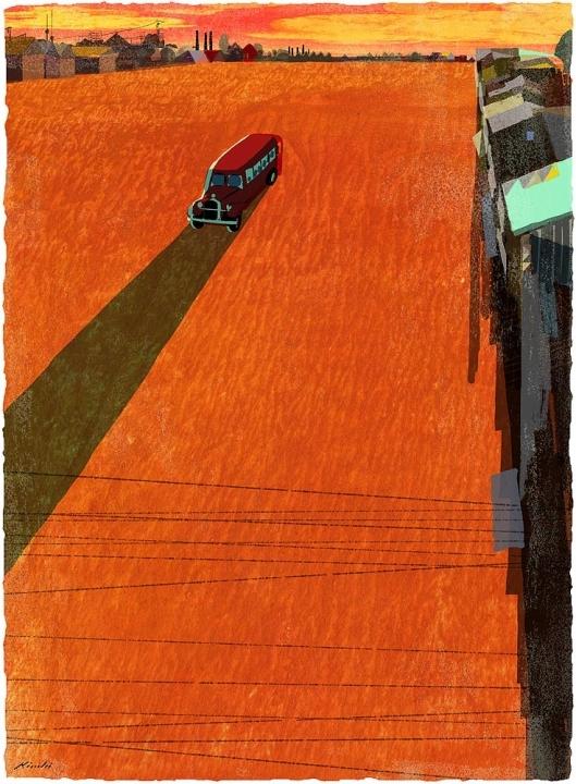 ©Tatsuro Kiuchi - Ilustración Editorial