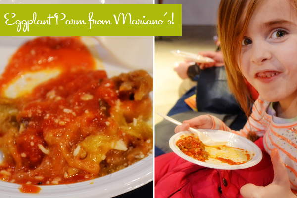 Roundy's Sauce Mariano's Eggplant Parmigiana