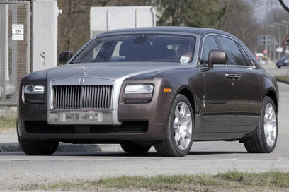 2012 Rolls Royce Ghost Limousine