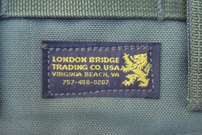 London Bridge Trading 2282E 200rd (M60/SAW) feed ammo pouch. C