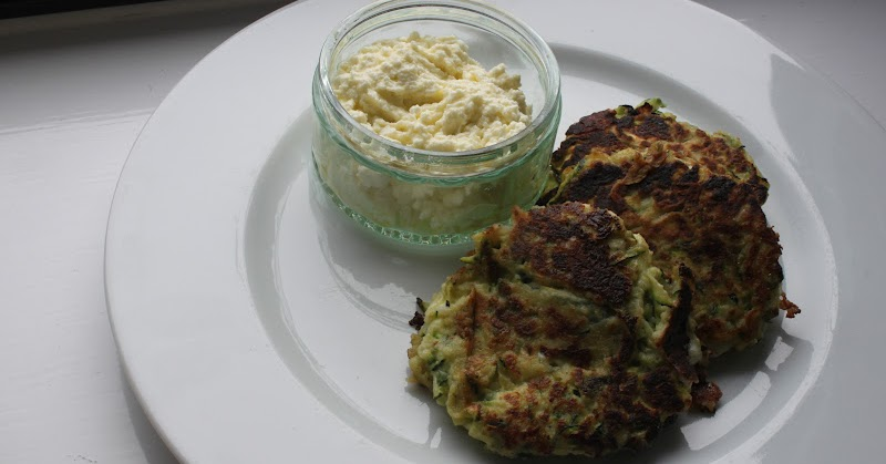 Culinary Conquests: Courgette Balls with Feta Dip