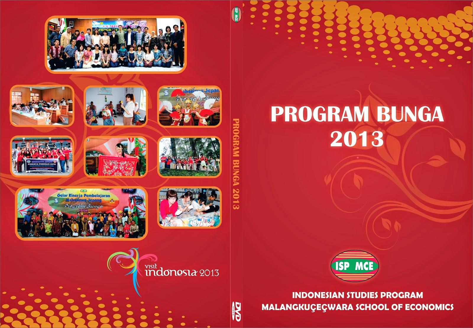 Cover DVD Program Bunga 2013 ISP Malangkucecwara