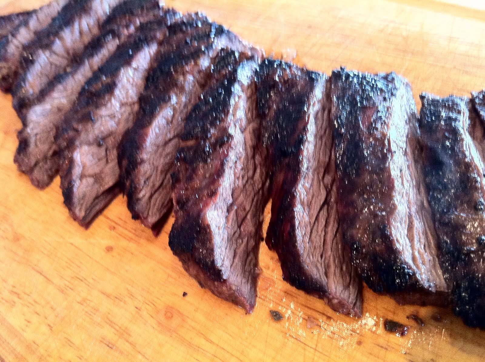 Recipes from 4EveryKitchen: Grilled Rosemary & Garlic Skirt Steak