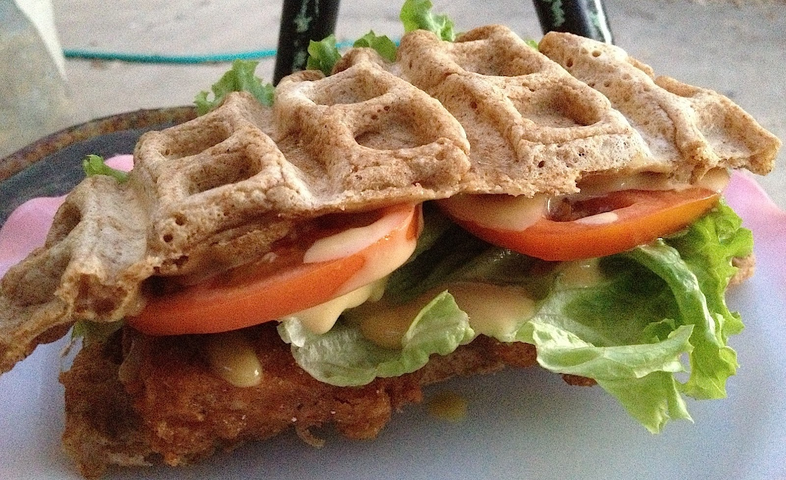 chicken and waffles chicken and waffles gf wheat beer roasted chicken ...