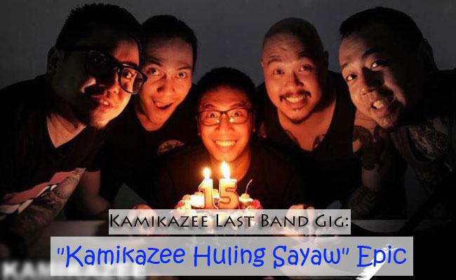 """Kamikazee Last Band Gig: """"Kamikazee Huling Sayaw"""" Epic"""
